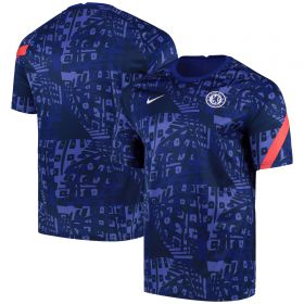 Chelsea Dri-Fit Training Top - Dark Blue