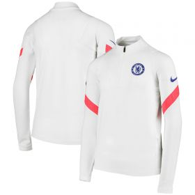 Chelsea Strike Drill Top - White - Kids
