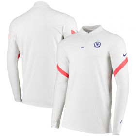 Chelsea Vapor Knit Strike Drill Top - White