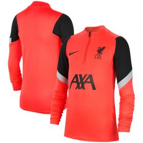 Liverpool Strike Drill Top - Red - Kids