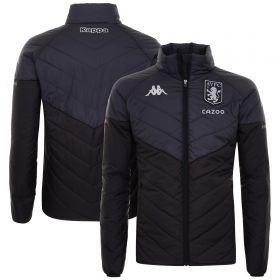 Aston Villa Staff Travel Padded Jacket - Black - Kids