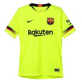 Barcelona Away Stadium Shirt 2018-19 - Kids with Suárez 9 printing