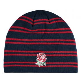 England Acrylic Fleece Lined Beanie - Navy
