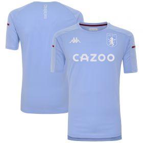 Aston Villa Player Training T-Shirt - Sky