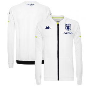 Aston Villa Matchday Staff Anthem Jacket - White