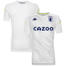 Aston Villa Matchday Staff T-Shirt - White