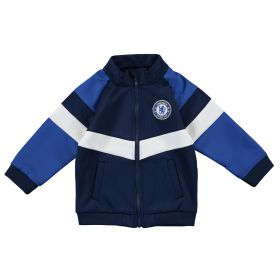 Chelsea Zip Through Track Jacket - Blue - Baby