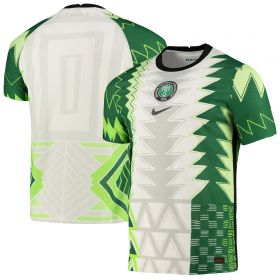 Nigeria Home Vapor Match Shirt 2020-21