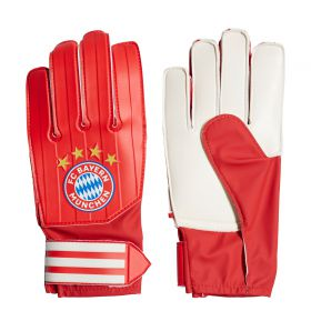 FC Bayern Train Goalkeeper Gloves - Red - Junior