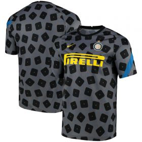 Inter Milan Dri-Fit Training Top - Dark Grey