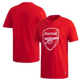 Arsenal DNA T-Shirt - Red