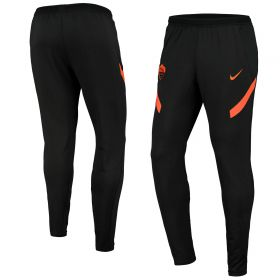 AS Roma Strike Drill Pants - Black