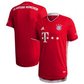 FC Bayern Authentic Home Shirt 2020-21
