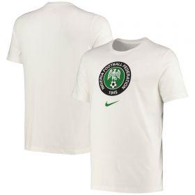 Nigeria Crest T-Shirt - White