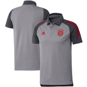 FC Bayern Cup Training Polo - Grey