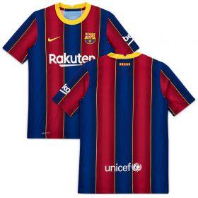 Barcelona Home Vapor Match Shirt 2020-21 - Kids