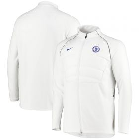 Chelsea Strike Drill Top - White