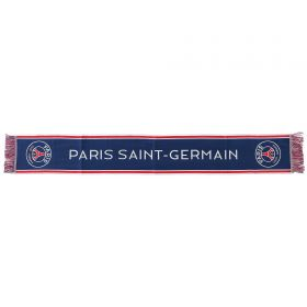 Paris Saint-Germain Fifth Scarf - Blue - Adults