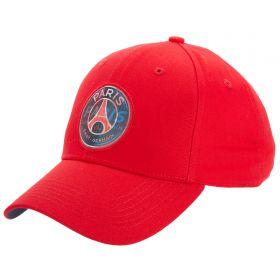 Paris Saint-Germain Hologram Crest Cap - Red - Mens