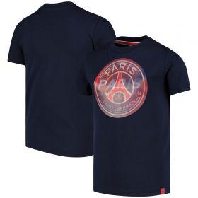 Paris Saint-Germain Hologram Crest T-Shirt - Blue - Kids