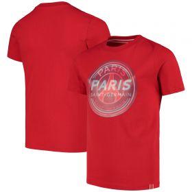 Paris Saint-Germain Hologram Crest T-Shirt - Red - Kids