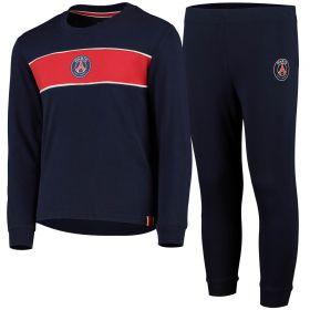 Paris Saint-Germain Pyjama Shirt - Blue - Kids