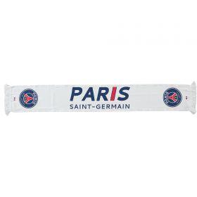 Paris Saint-Germain Scarf - White - Adults
