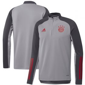 FC Bayern Cup Training Warm Top - Grey