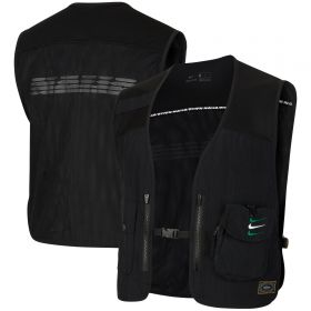 Nigeria Utility Vest With Pockets - Black