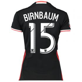 DC United Home Shirt 2016-17 - Womens with Birnbaum 15 printing