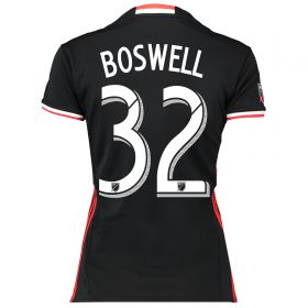 DC United Home Shirt 2016-17 - Womens with Boswell 32 printing
