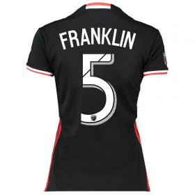 DC United Home Shirt 2016-17 - Womens with Franklin 5 printing