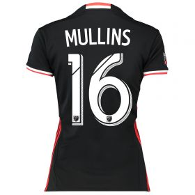 DC United Home Shirt 2016-17 - Womens with Mullins 16 printing