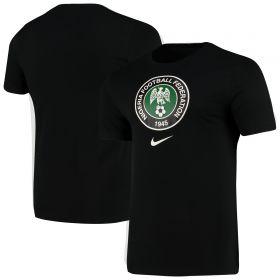 Nigeria Crest T-Shirt - Black