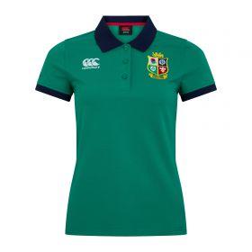 British & Irish Lions Home Nations Polo Shirt - Bosphorus - Womens