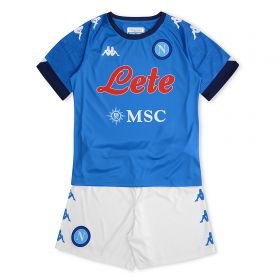 SSC Napoli Home Kit 2020-21 - Kids