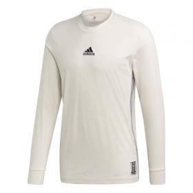 Real Madrid Seasonal LS Tee - White