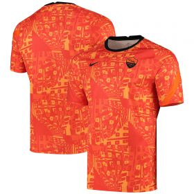 AS Roma Dri-Fit Training Top - Orange
