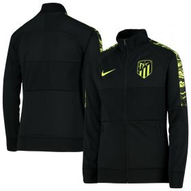 Atlético de Madrid I96 Anthem Track Jacket - Black - Kids