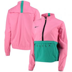 Barcelona Mid-Layer Quarter Zip Jacket - Pink - Womens