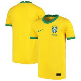 Brazil Home Stadium Shirt - Kids
