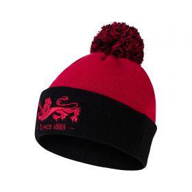 British & Irish Lions Bobble Hat - Red