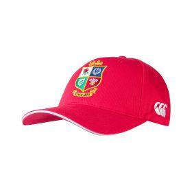 British & Irish Lions Cotton Drill Cap - Red