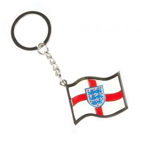 England Crest Flag Keyring