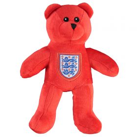 England Crest Mini Bear - Red