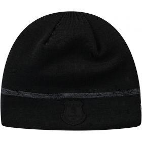 Everton New Era Skull Knit - Black - Mens