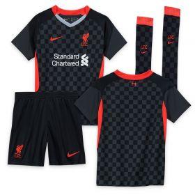 Liverpool Third Stadium Kit 2020-21 - Little Kids