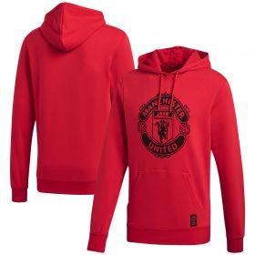 Manchester United DNA Hoodie - Red