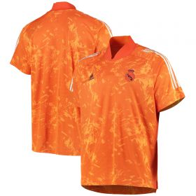 Real Madrid Cup Training Jersey - Orange