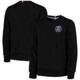 Paris-Saint Germain ESSENTIEL Crest Sweatshirt - Black - Child